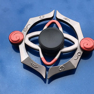 Zinc Alloy Fidget Spinner Metal Tri Fidget Hand Spinner Finger Focus Toy Smooth  Electroplate Hybrid Bearing Toys For Kids Gift