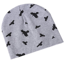Load image into Gallery viewer, Baby Cap Cartoon Animal Double Printting Cotton Knit Beanie Hats For Toddler Boy Girls Spring Autumn Winter Headwear