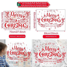 Load image into Gallery viewer, DIY Christmas Decorations Window Sticker Christmas Decoration For Home Xmas Decor Merry Christmas 2021 Happy New Year