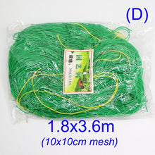 Load image into Gallery viewer, 10x10cm Green Garden Nylon Netting Mesh Trellis Support Climbing Bean Plant Nets Grow Fence Climbing Net Thickened Line