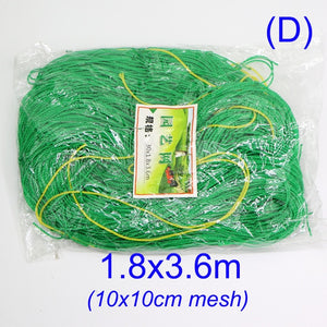 10x10cm Green Garden Nylon Netting Mesh Trellis Support Climbing Bean Plant Nets Grow Fence Climbing Net Thickened Line