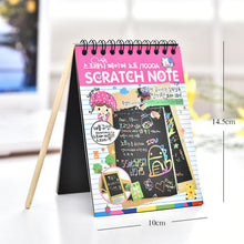 Load image into Gallery viewer, craft kids diy toys creativity toys  for children Color Cardboard Creative DIY Draw Sketch Notes for Kids Toy School Supplies