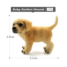 Load image into Gallery viewer, Simulation Mini hound dalmatian pug dog miniature figurine animal Model home decor fairy garden decoration accessories modern