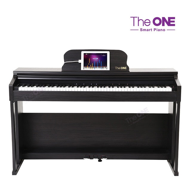 The ONE Smart Digital Piano 88 Key White, Black Upright Piano Educational Music Instruments