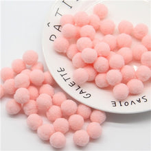 Load image into Gallery viewer, Mini Pompom Mixed Soft Round Pompones Balls Fluffy Pom Pom for Kids DIY Garment Handcraft Craft Supplies 8/10/15/20/25/30mm