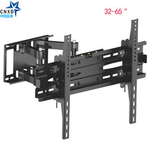 "Load image into Gallery viewer, Articulating Full Motion TV Wall Mount Bracket Tilt Swivel Bracket TV Stand Suitable TV Size  32''-65"" MAX VESA 600*400mm"