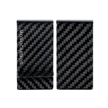 Load image into Gallery viewer, Monocarbon Minimalist Genuine Carbon Fiber Money Clips Wallets Aramid Fiber Clamp For Money