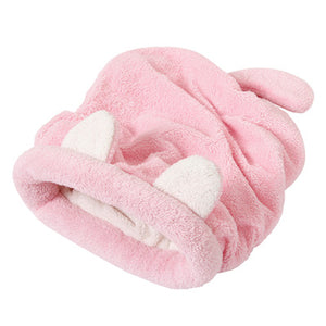 Cute Cat Sleeping Bag Warm Dog Cat Bed Pet Dog House Lovely Soft Pet Cat Mat Cushion High Quality Products Lovely Design 4Colors