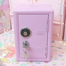 Load image into Gallery viewer, 1pc Lovely Pink Piggy Bank Safe Money Box for Children Digital Coins Cash Saving Safe Deposit Birthday Gifts for Kids