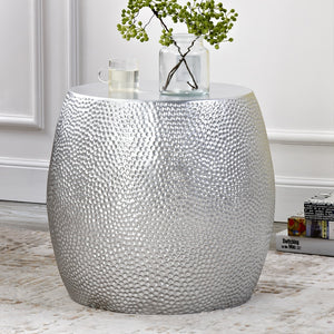Modern style sidetable living room sofa table silver bedside tables leisure small tables home furniture