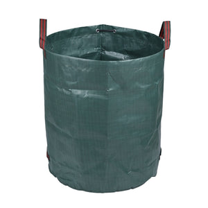 120L/272L/300L/500L Large Garden Bag  Heavy Duty Leaf Bag Reusable Waste Bag