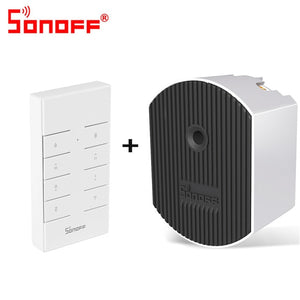 SONOFF D1 Wifi Smart Dimmer Mini Switch DIY Home Adjust Light Brightness APP RM433 RF Remote Control Work With Alexa Google Home