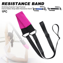 Load image into Gallery viewer, Yoga Elastic Strap Stretching Exercise Firm Practical Resistance Band Durable Acrobatics Ballet Dance Fitness Nylon Easy Apply