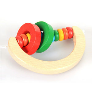 Wooden Toys Childhood Learning Toy Children Kids Baby Colorful Wooden Blocks Enlightenment Educational Toy