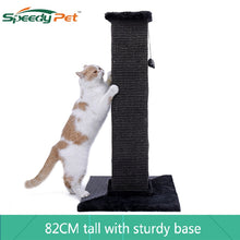 Load image into Gallery viewer, Dropshipping 82 CM Cats Ultimate Scratching Post 100% NATURAL durable sisal Cat Tree For Kittern Cat climbing frame Tower Condo
