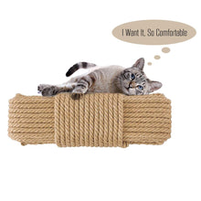 Load image into Gallery viewer, Replacement Cat Scratching Post Sisal Rope for Cat Tree and Tower  DIY desk foot stool chair legs binding rope material