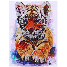 Load image into Gallery viewer, 25 Pattern 5D Diamond Painting Animal Diy Diamond art Mosaic Embroidery Painting