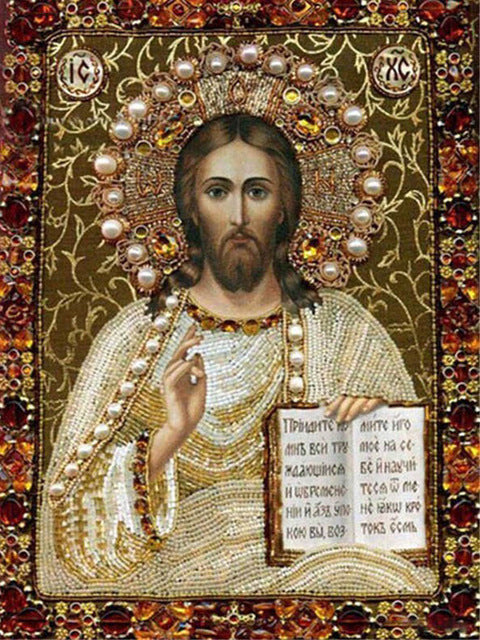Religious Icons Diamond Mosaic Icon Diamond Embroidery Rhinestones Pictures Diamond Painting Full Square Drill Religion Virgin Mary
