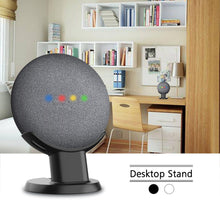 Load image into Gallery viewer, Mount Stand Holder For Google Home Mini Voice Assistant Smart Home Home Automation Google Nest MIni Desk Stand
