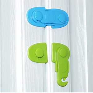 Baby Proof Cabinet Lock Security Protector Drawer Door Child Safety Cabinet Lock Plastic Protection Kids Safety Door Lock
