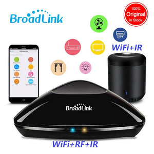 2020 Broadlink RM Pro+ RM33 RM Mini3 WiFi+IR+RF Smart Home Universal Intelligent Remote Controller works with Alexa Google Home