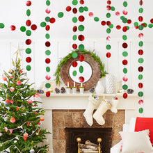 Load image into Gallery viewer, Christmas Decorations for Home Twinkle Star Snowflake Paper Garlands Pendant New Year