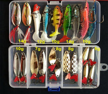 Load image into Gallery viewer, Hot Brilliant Metal Jig  Spoon Fishing Lure Set 10/20/25/35 PCS Sequin Kit Bait Fishing Tackle Wobblers Pesca Isca Artificial