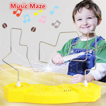 Load image into Gallery viewer, Magic Music Maze Kids Electronic Maze Fun Collision Music Electric Shock Toys Musical Touch Maze Home Party Game Educational Toy