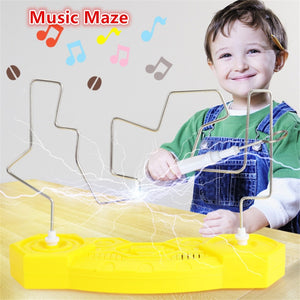 Magic Music Maze Kids Electronic Maze Fun Collision Music Electric Shock Toys Musical Touch Maze Home Party Game Educational Toy