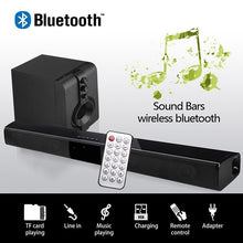 Load image into Gallery viewer, Home theater HIFI Portable Wireless Bluetooth Speakers column Stereo Bass Sound bar FM Radio USB Subwoofer for Computer TV Phone