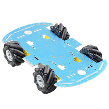 Load image into Gallery viewer, Mecanum Wheel Omni-directional Robot Car Chassis Kit with 4pcs TT Motor for Arduino Raspberry Pi DIY Toy Parts