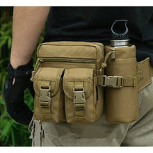 Load image into Gallery viewer, Tactical Pouch Military Men Hip Waist Belt Bag Small Pocket Running Pouch Outdoor Travel Camping Bags Phone Case