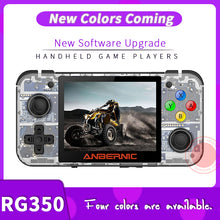 Load image into Gallery viewer, ANBERNIC New Retro Game RG350 Video Game Handheld game console MINI 64 Bit 3.5 inch IPS Screen 16G Game Player RG 350 PS1 RG350M