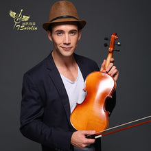 Load image into Gallery viewer, 4/4 Violin for Beginners  4/4 Maple Violin 3/4 Antique Matte High Quality Handmade Acoustic Violin Violin Case Bow