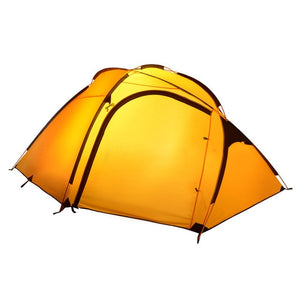High quality double layer 3-4 person more color choose waterproof ultralight ultralarge camping tent