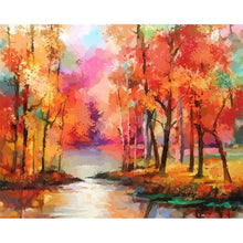 Load image into Gallery viewer, DIY Painting By Numbers Hand-Painted Oil Painting Landscape Picture Paint Drawing On Canvas Home Decoration Unique Gift