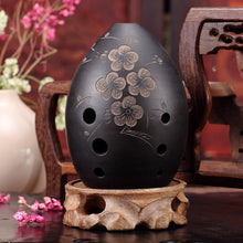Load image into Gallery viewer, 8 Holes Ocarina Black Clay Xun Musical Instrument For Children Beginner Gift #20/1