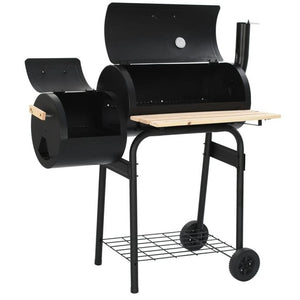 【USA Warehouse】Classic Charcoal BBQ Offset Smoker