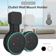 Load image into Gallery viewer, Smart Home Homekit Outlet Wall Mount Hanger Stand For Amazon Echo Dot 3rd Generation Speaker Wall Mount Compatible With Alexa
