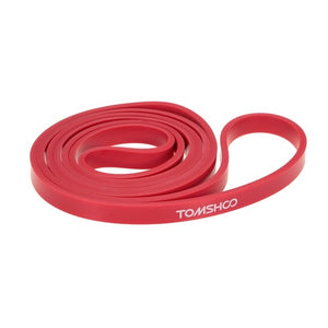 TOMSHOO Resistance Bands Fitness Yoga Home Gym Exercise Resistance Bands Latex Gym Strength Training Loops Bands Gym Workout
