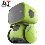 Smart Robot Dance Voice Command 3 Languages Versions Touch Control Toys Interactive Robot Cute Toy Gifts for Kids