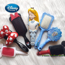 Load image into Gallery viewer, Disney Frozen Comb 3D Mickey Minnie Comb Elsa Anti-static Air Cushion Hair Care Brushes Baby Girls Dress Up Makeups Toy Gifts