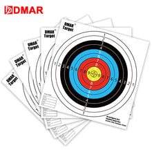 Load image into Gallery viewer, DMAR 30pcs 40cm Standard Archery Target Paper Reinforced Shooting Paper Hunting Archery Accessories Arrow Recurve Compound bow