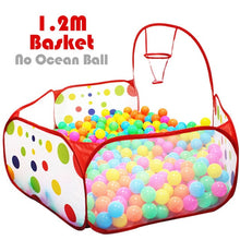Load image into Gallery viewer, Ball Pit Baby Playpen Children Toy Tent Ball Pool with Basket Outdoor Toys for Children Ballenbak