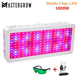 Full Spectrum LED Grow Light 410-730nm for Indoor Plants and Flower Greenhouse Grow Tent