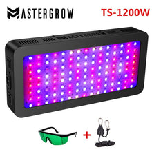 Load image into Gallery viewer, Full Spectrum LED Grow Light 410-730nm for Indoor Plants and Flower Greenhouse Grow Tent