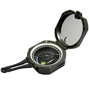 Geological compass instrumentation inclination angle vertical angle slope multifunction compass outdoor hiking compass