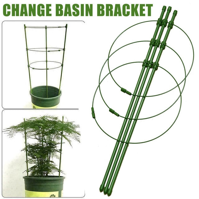 Climbing Plant Support Cage Garden Trellis Flowers Stand Rings Tomato Support Durable Creative Climbing Vine Rack Tomato Cage