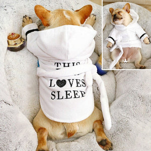 Cute Dog Pajamas Pet Puppy Clothes Clothing Soft Pets Dogs Cat Coat Costume For Small Medium Dogs Chihuahua French Bulldog Pug