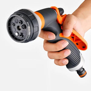 Watering Gun Garden Nozzle Hose Nozzle Adjustable Nozzle Water Gun Lawn Hose Multifunction Garden High Pressure Sprayer